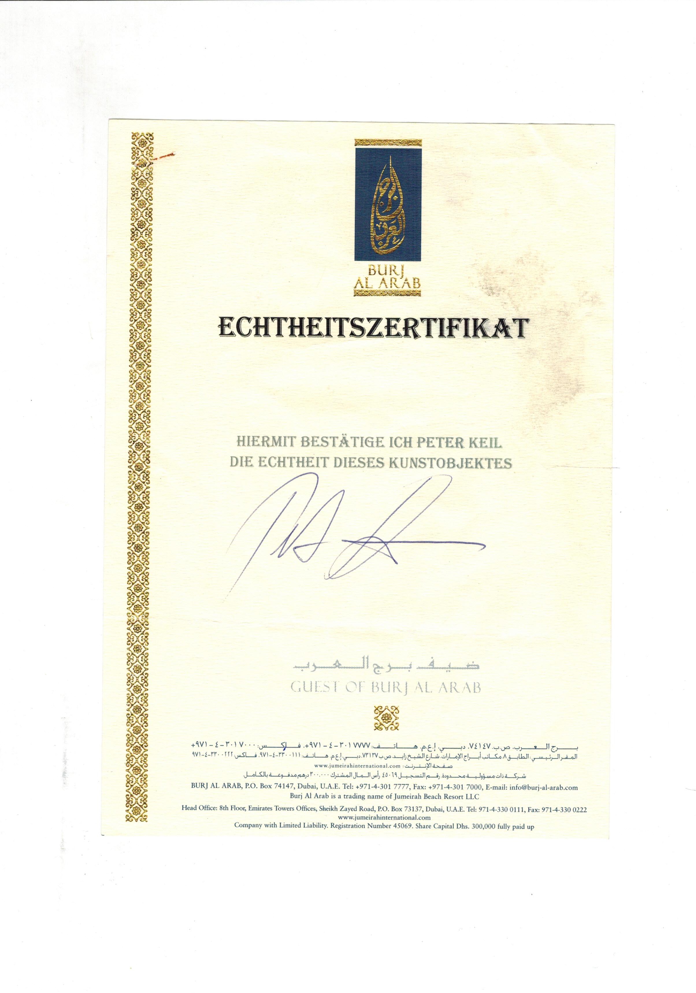 Charmant Echtheitszertifikat Vorlage Zeitgenössisch - Entry Level ...