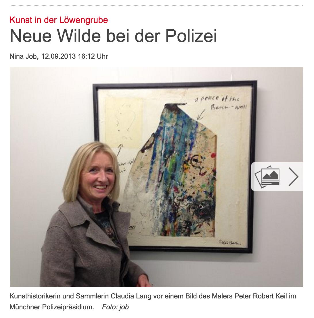 Abendzeitung_Keil_München_Polizeipraesidium