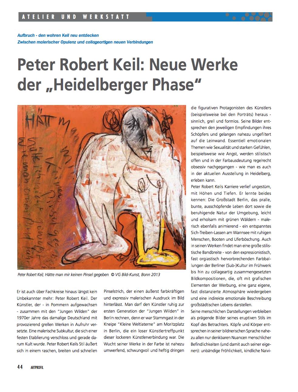 P.R.Keil_Neue Werke der Heidelberger Phase